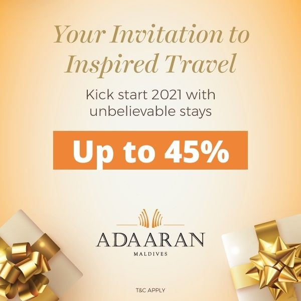 Your invitation to inspired travel Save Up to 45%