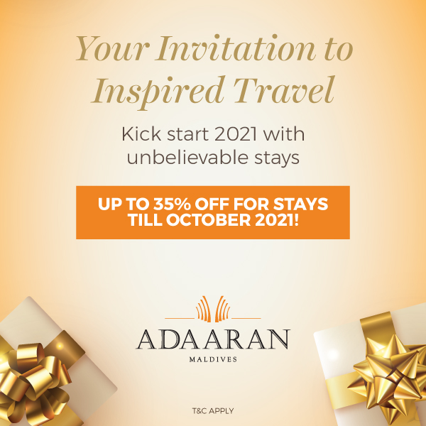 Your invitation to inspired travel Save Up to 35%